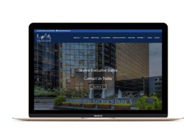 Skyline Executive Suites Website Design